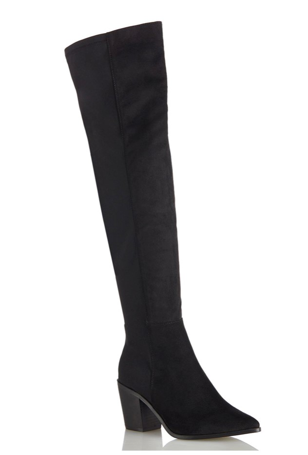 Tall Wide Calf Stretch Boots